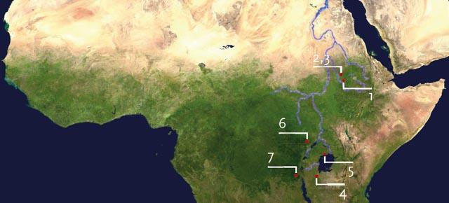 Die Entdeckung der Nilquelle